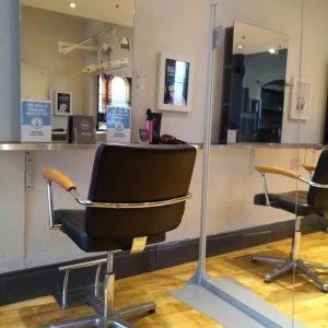 salon hygiene screen
