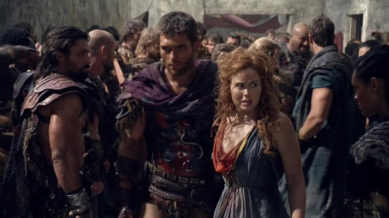 Anna Hutchison Naked in Spartacus War of the Damned
