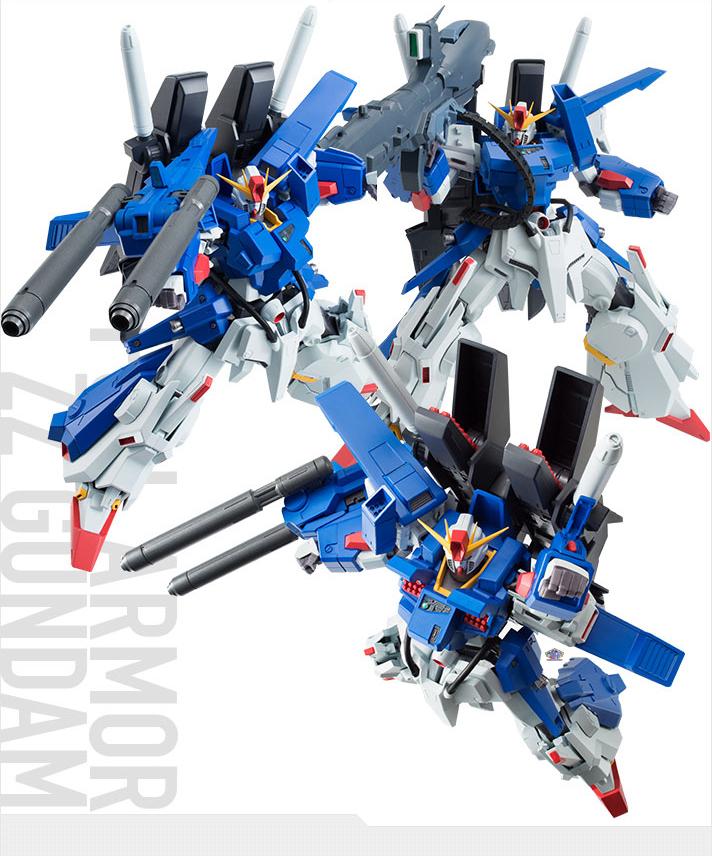 Robot Damashii Full Armor ZZ Gundam
