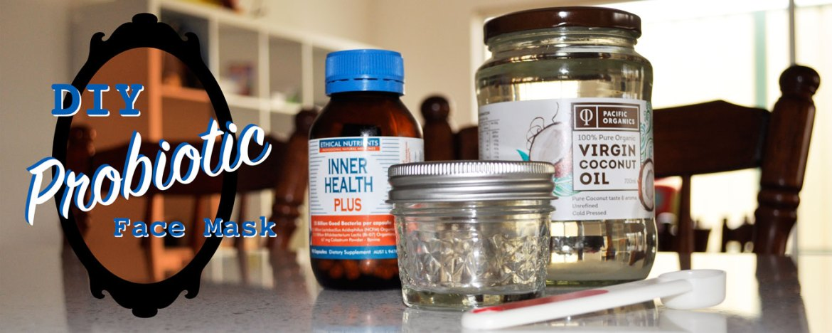 DIY Probiotic Face Mask
