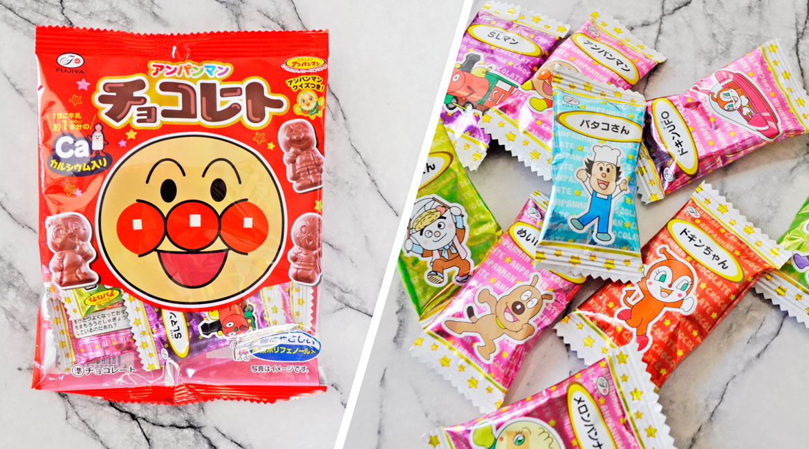 Anpanman Chocolates