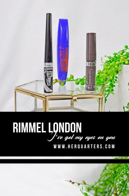 Rimmel London Pinterest