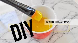 Turmeric Peel Off Mask