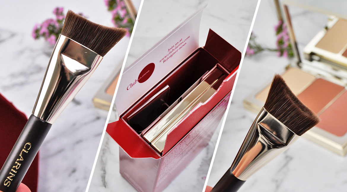 Clarins Face Contouring Palette brush