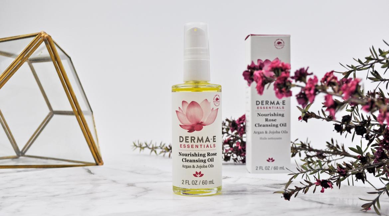 Derma E Rose Cleansing oil