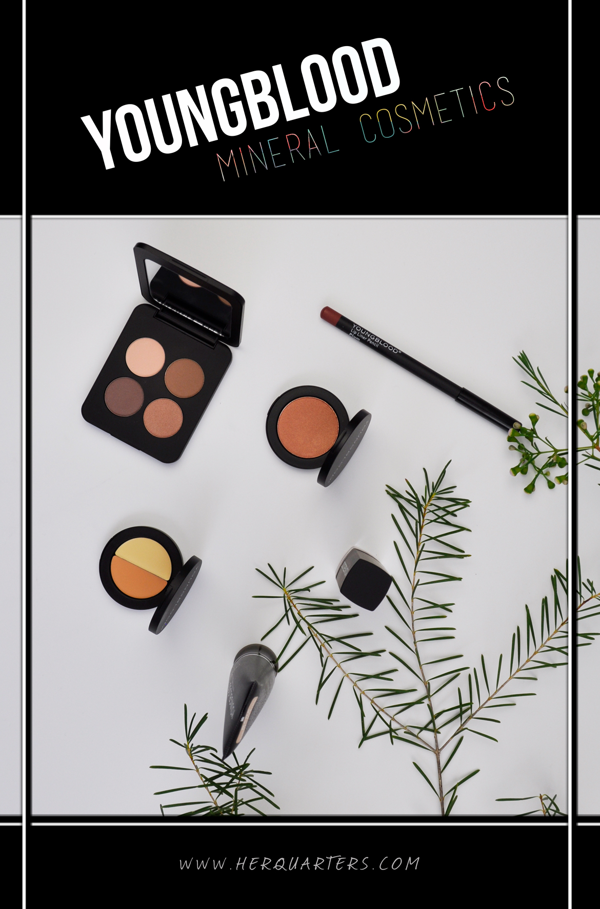 Youngblood Mineral Cosmetics Pinterest