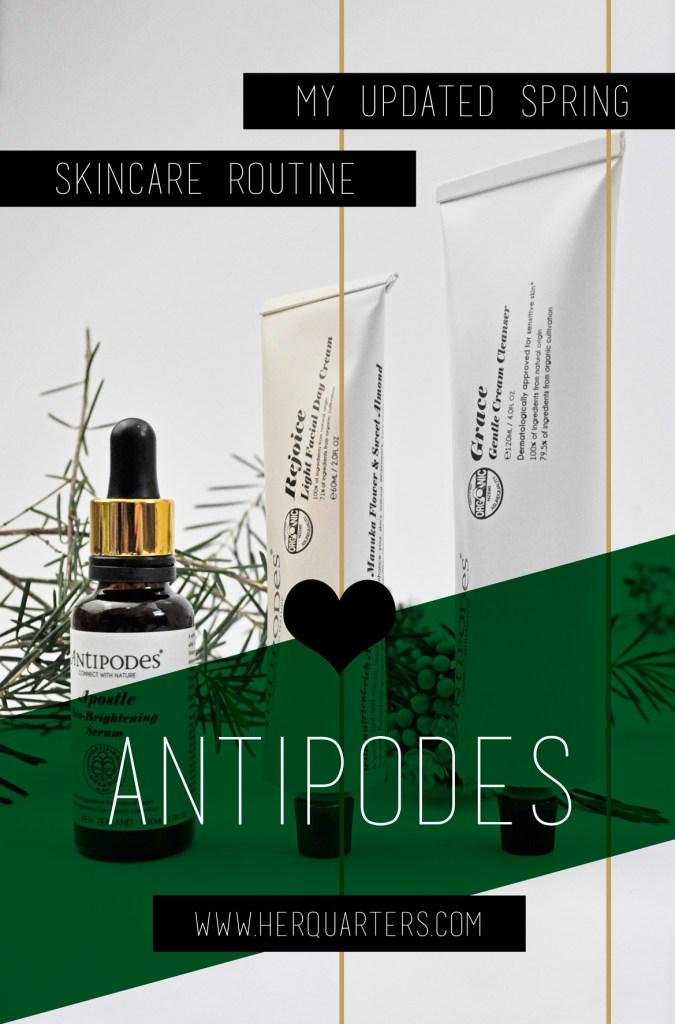 Antipodes Spring Skincare Routine Pinterest