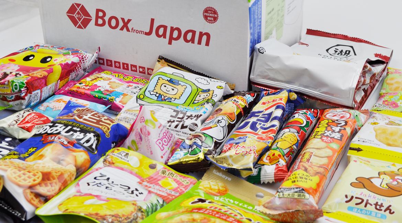 Box from Japan September 2017
