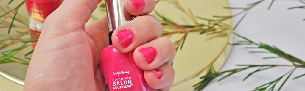 Sally Hansen Back to the Fuchsia