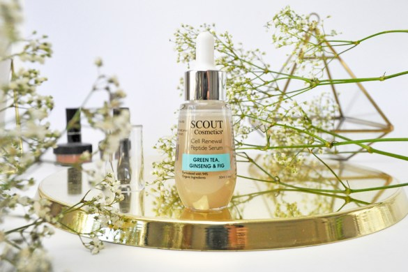 Scout Cosmetics Cell Renewal Peptide Serum