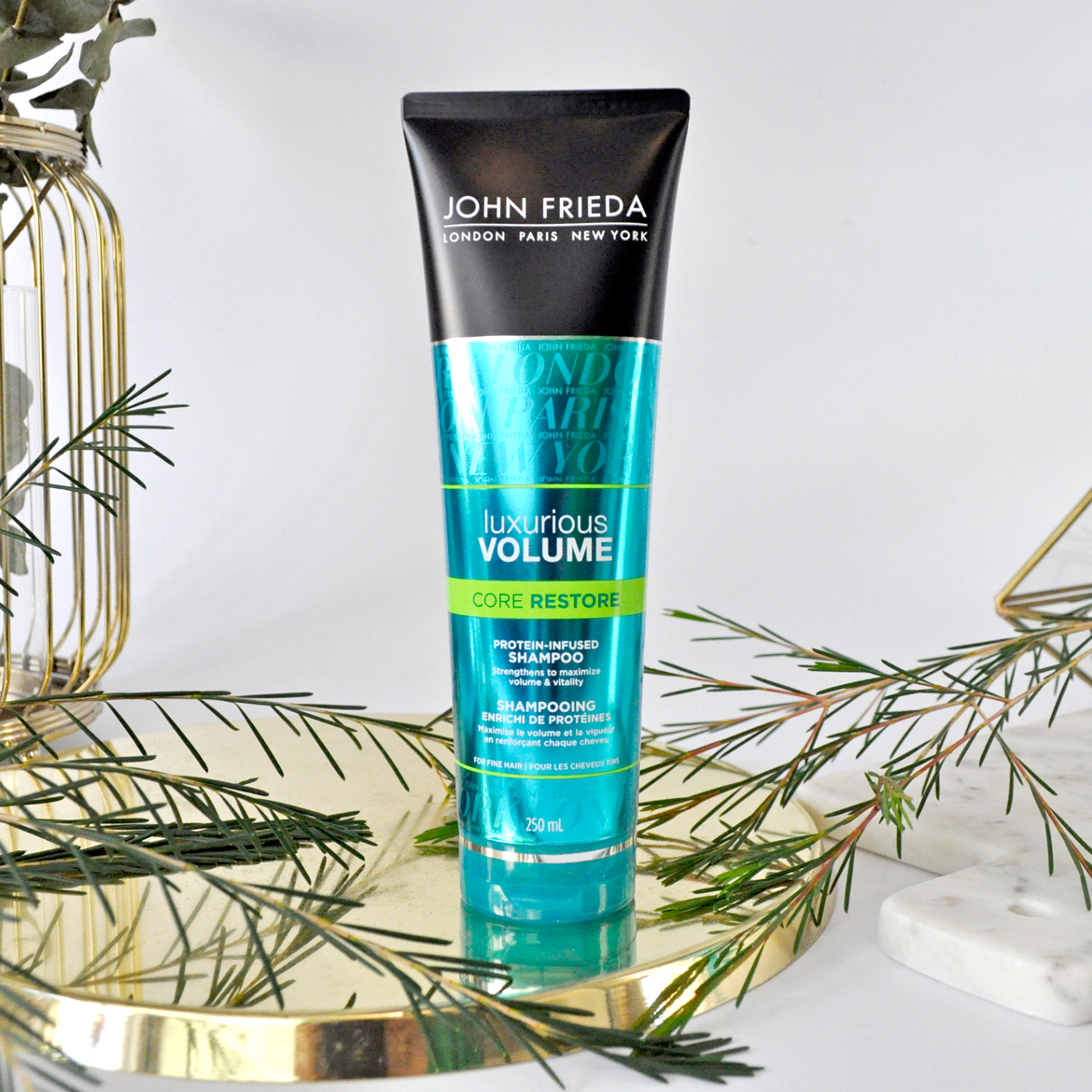John Freida Luxurious Volume Core Restore Protein-Infused Shampoo
