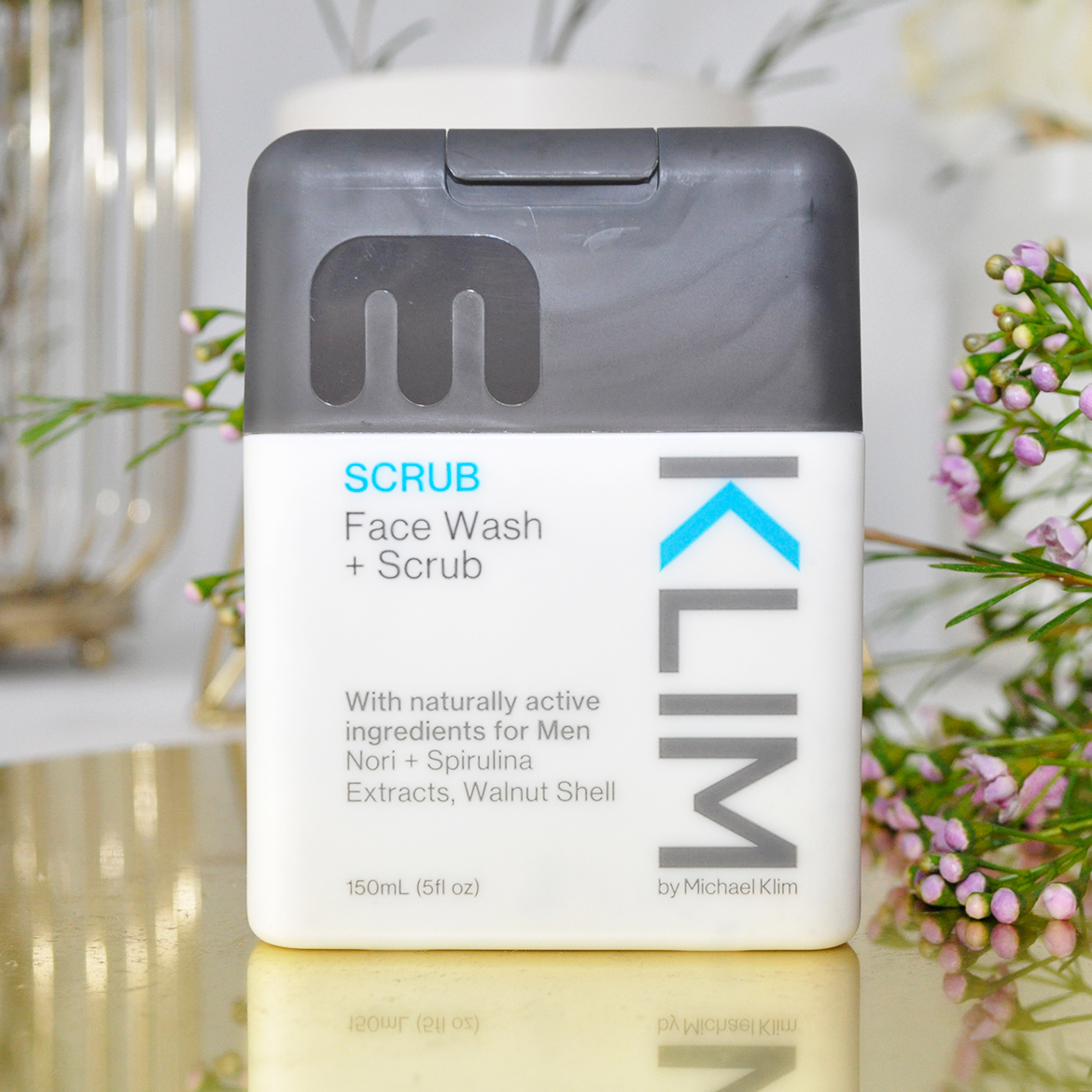 Klim Face Wash + Scrub