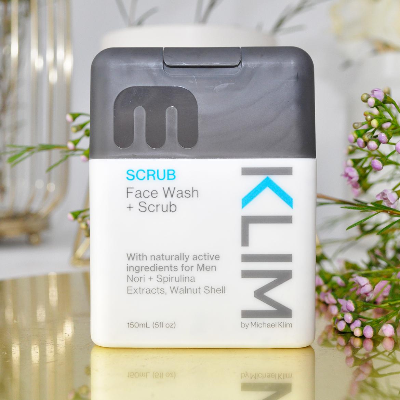 Klim Face Wash + Scrub
