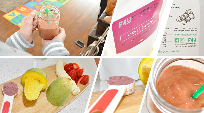 Formulated For you Organic Acai Berry Powder