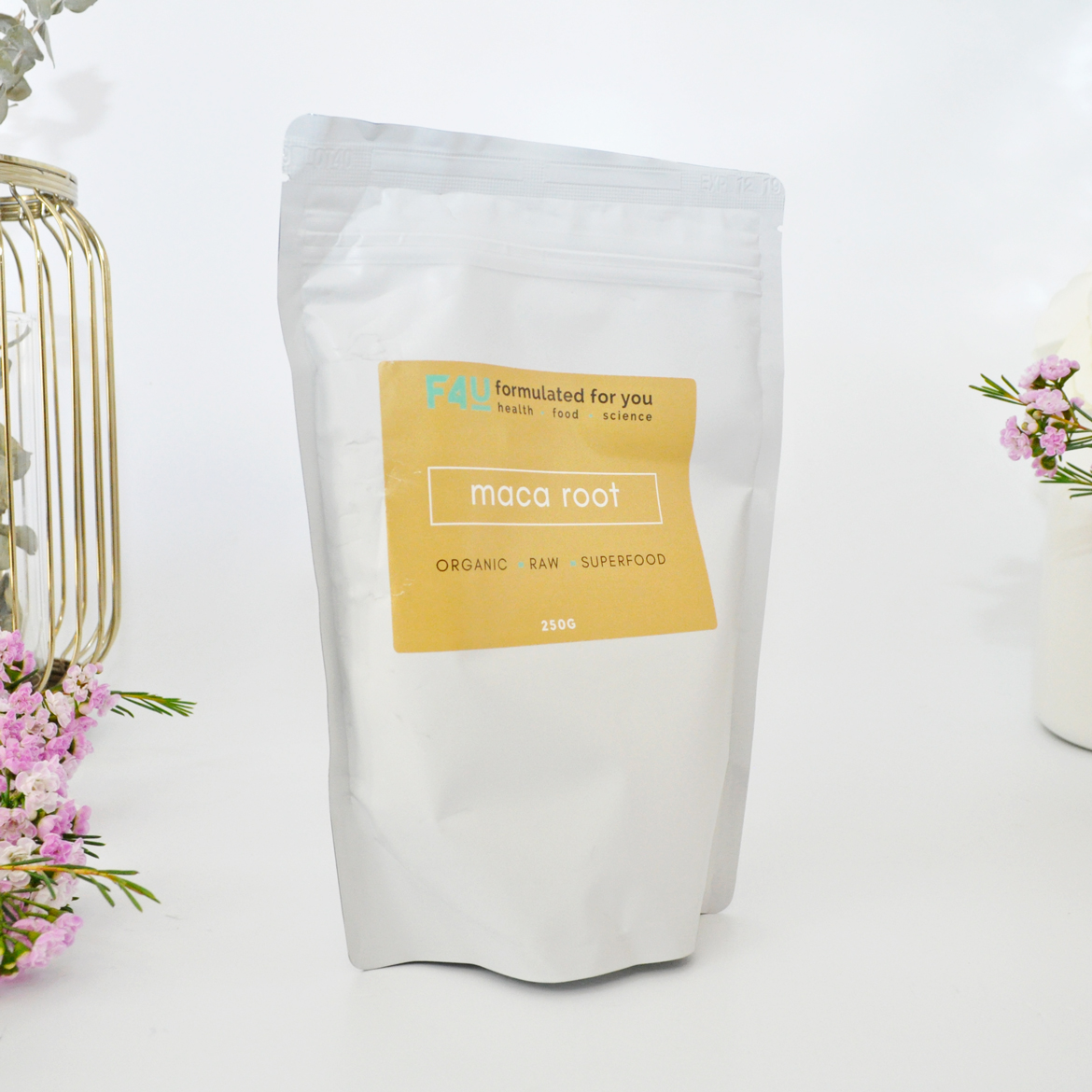 Formulated For you Organic Maca Root Powder