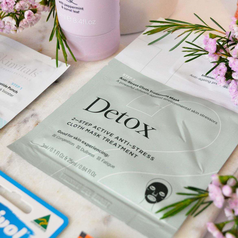 Detox 2–Step Anti-Stress Cloth Mask Treatment