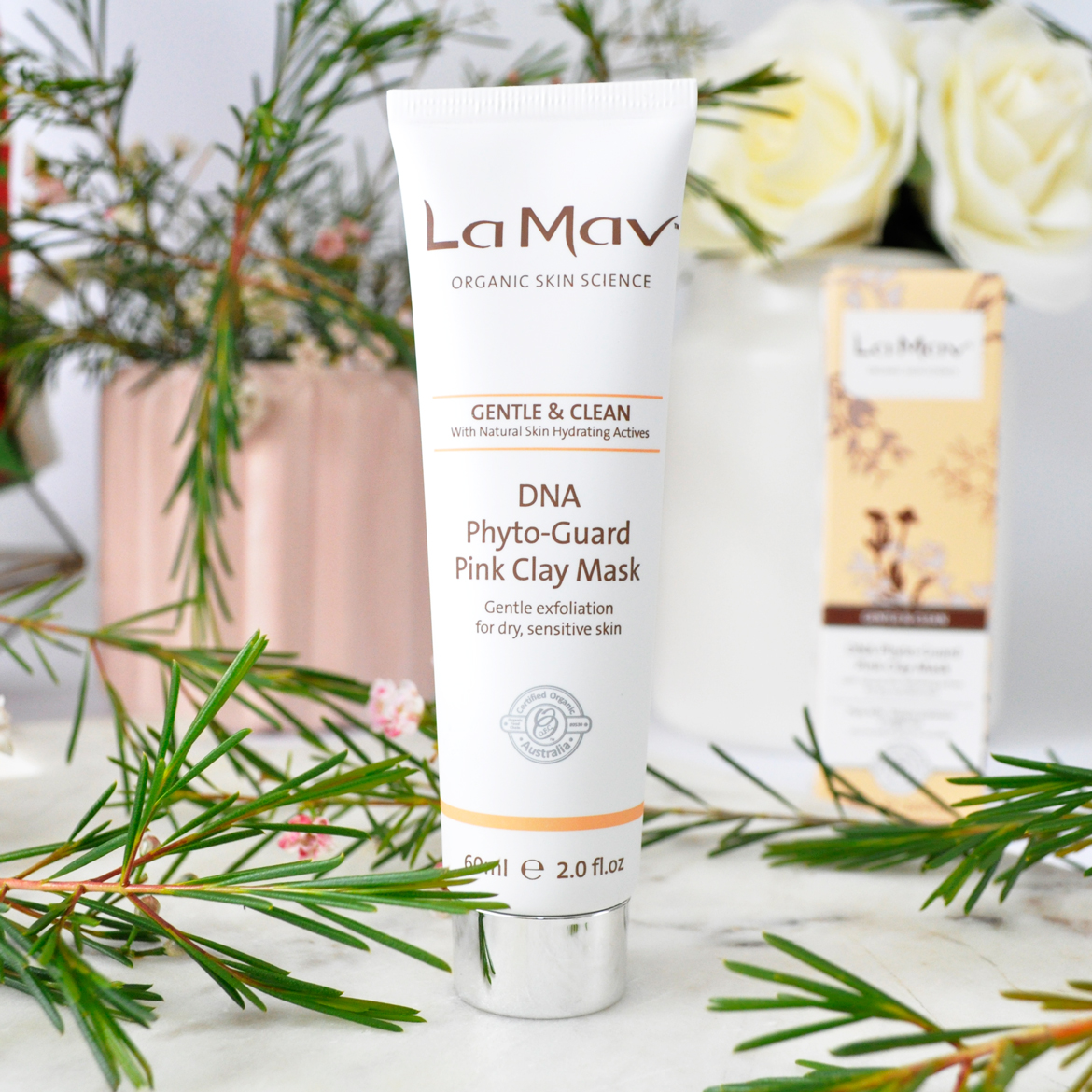 La Mav's DNA Phyto-Guard Pink Clay Mask
