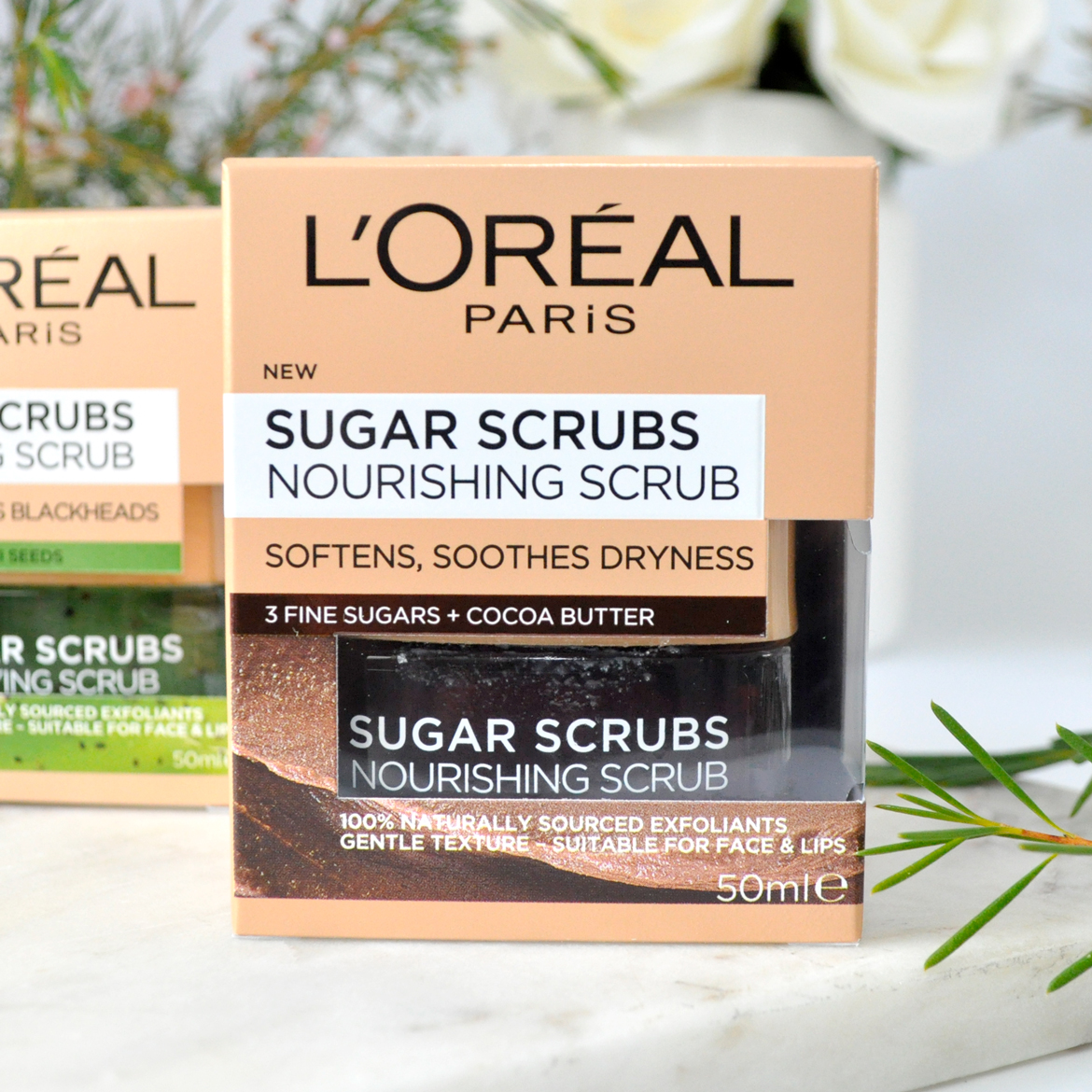 L'Oréal Paris Sugar Scrubs Nourishing Scrub