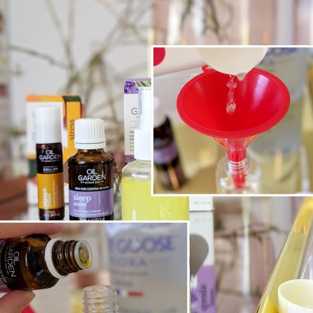Oil Garden DIY Linen Spray