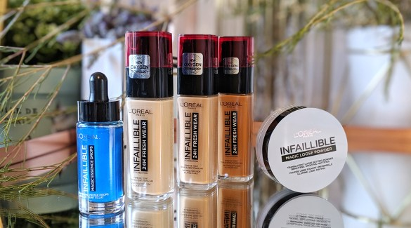 loreal infallible blog cover