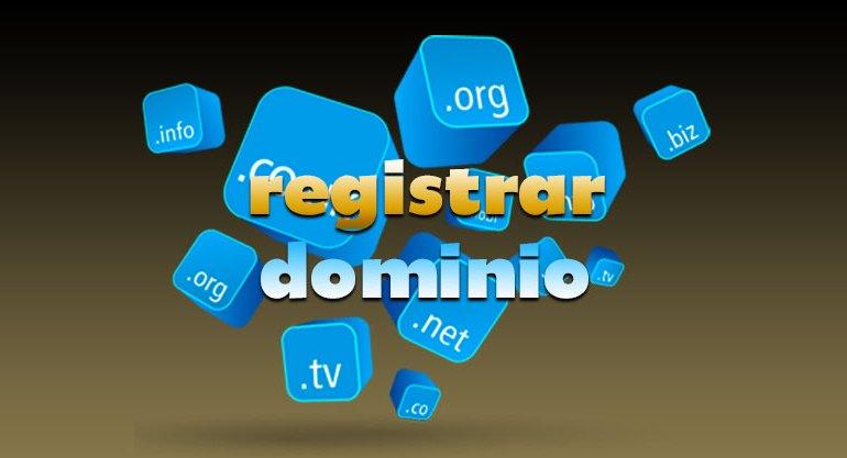 registrar dominio
