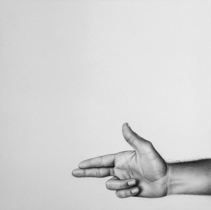 """""""SIN TÍTULO XI"""" / Grafito sobre papel / 40 x 40 cm / ©Jacinto de Manuel"""