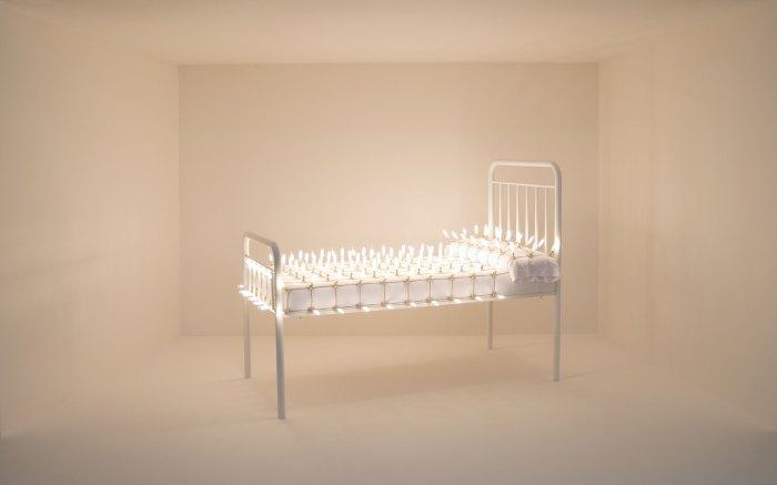 Fotograma de la video-instalación 'Retroceso-El sueño dormido' / @2012