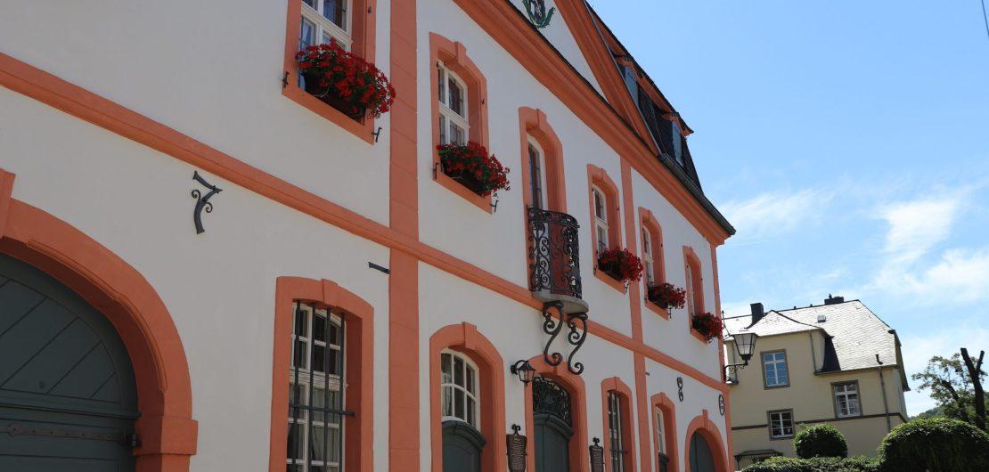 Historisches Rathaus Voderansicht