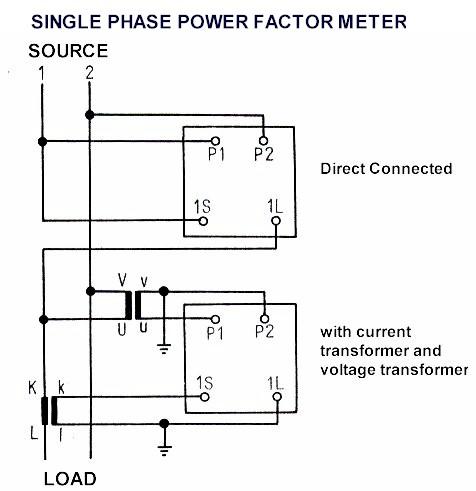 ammetervoltmetertransducer meters wire diagram