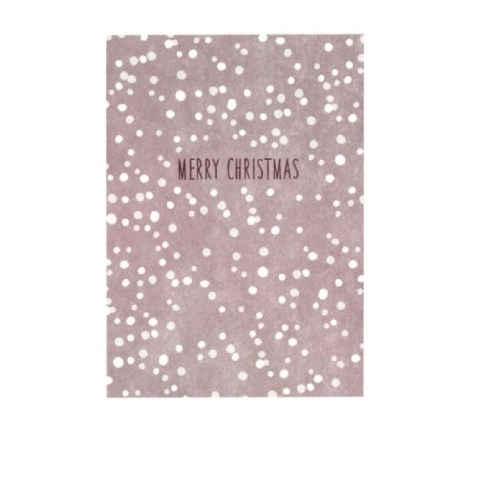 merry-christmas-postkarte-rosa-punkte-avaundyves