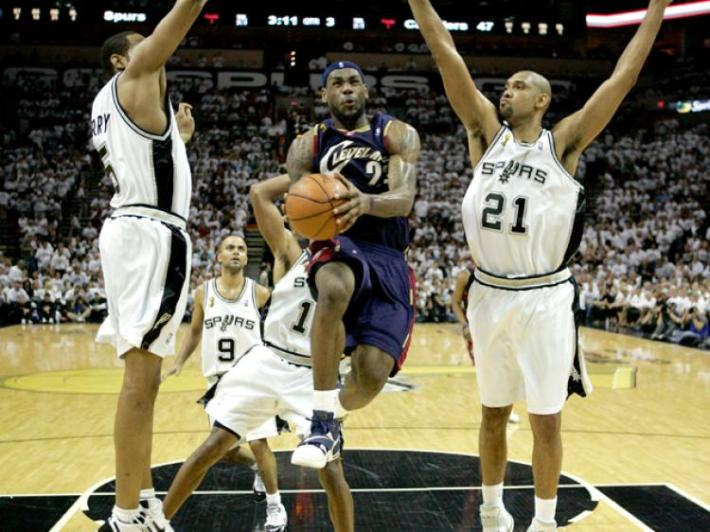 2007 Finalleri: LeBron James vs Spurs