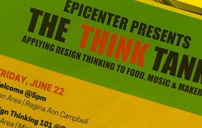 Epicenter Design Thinking Think Tank Event workshop
