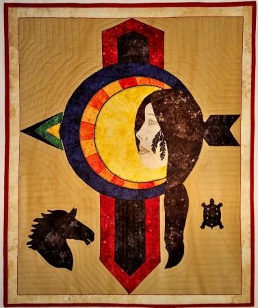 Mary Crow Dog - Lakota Woman © J Lee Bagan