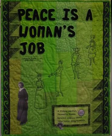 Peace Is A Woman's Job © Connie Harris Farrington