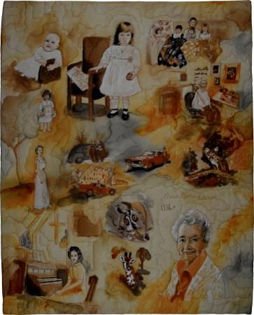 My Mom Anna Marie Peterson: Artist, Age 100 © Betty Hahn