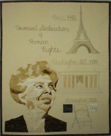 Eleanor Roosevelt © Nancy Hershberger