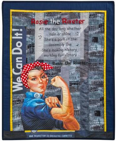 Rosie the Riveter © Linda MacDonald