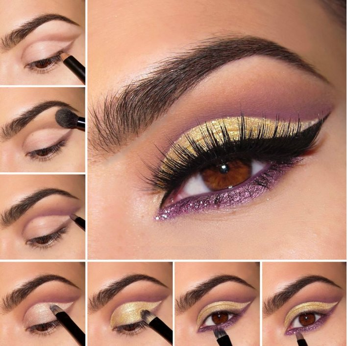 20 easy step by step eyeshadow tutorials for beginners - her style code