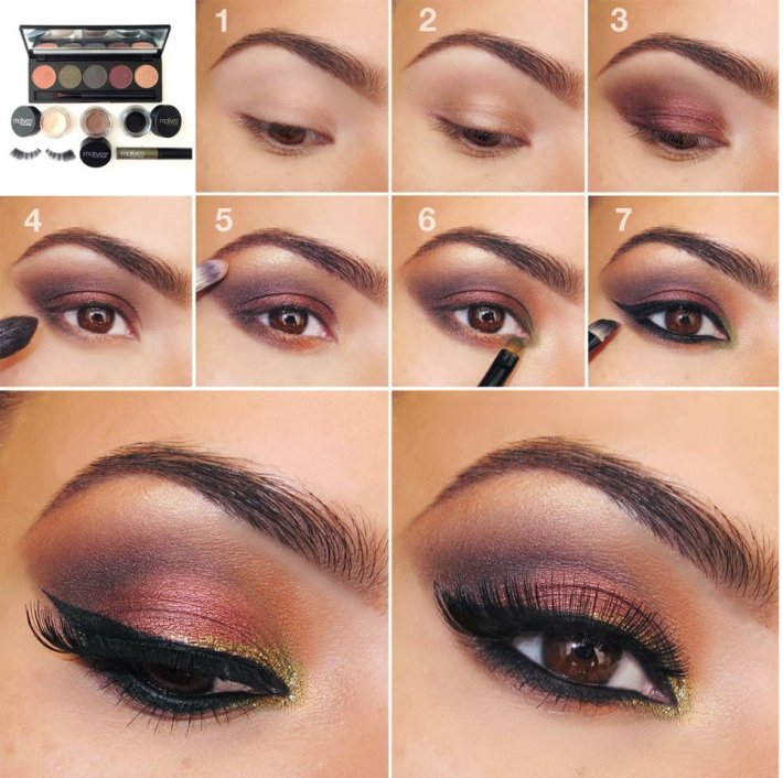 20 simple easy step by step eyeshadow tutorials for beginners - her