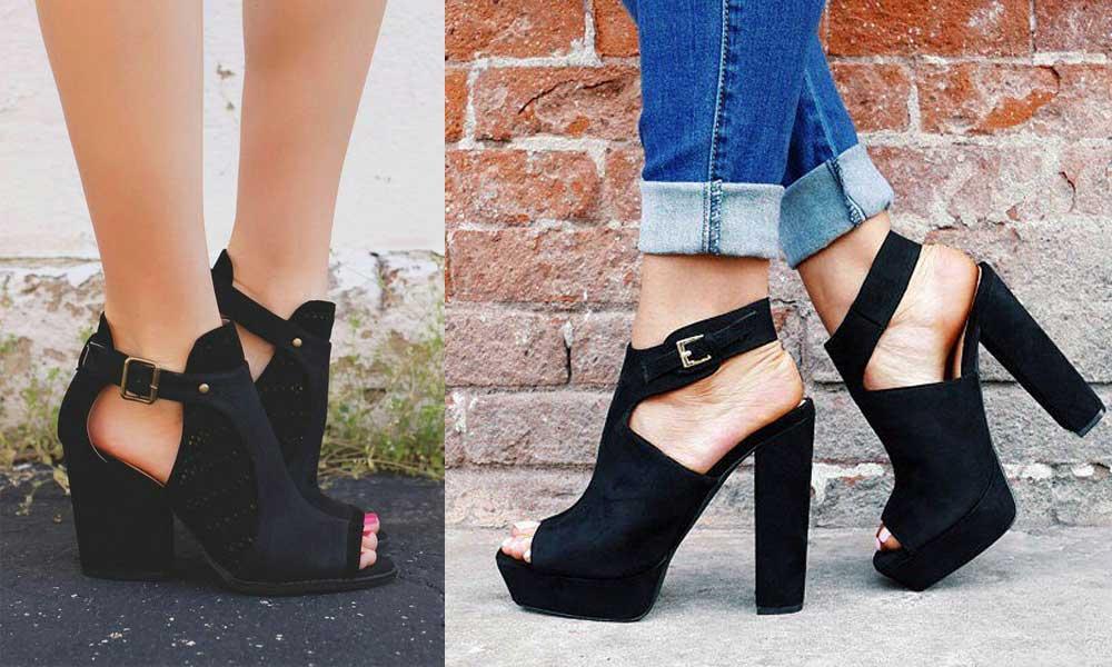 How To Wear Chunky Heels 27 Trendy Stylish Chunky Heel
