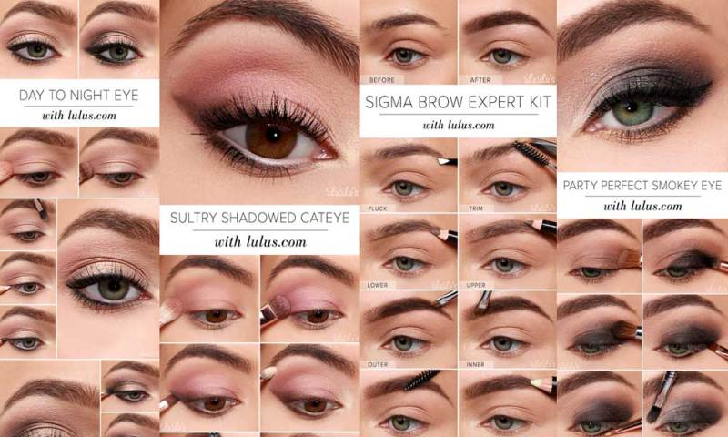 10 Easy Step By Makeup Tutorials