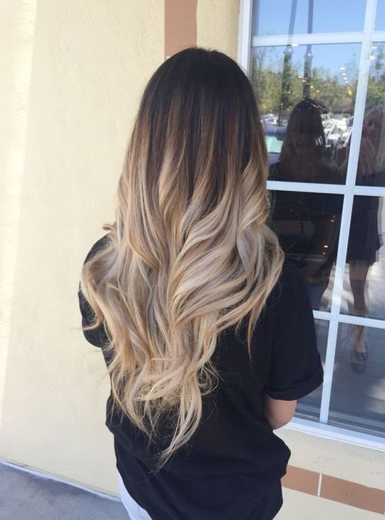 Image Result For Ombre Hair Long