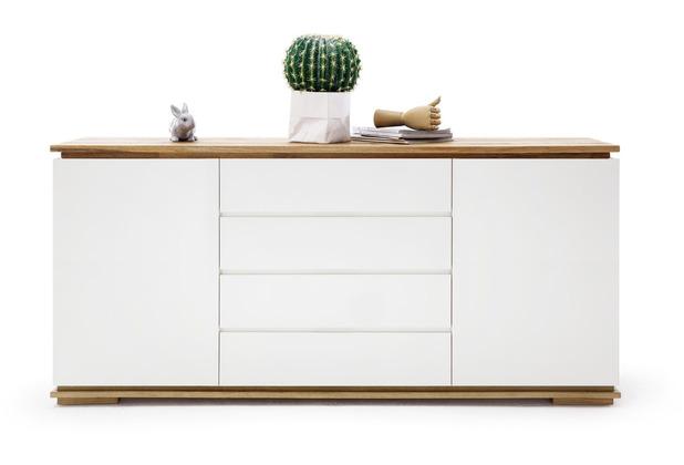 mca furniture chiaro sideboard weiss matt 4 schubkasten 172 x 81 x 40 cm