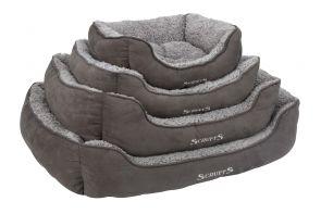 Scruffs cosy box bed grijs