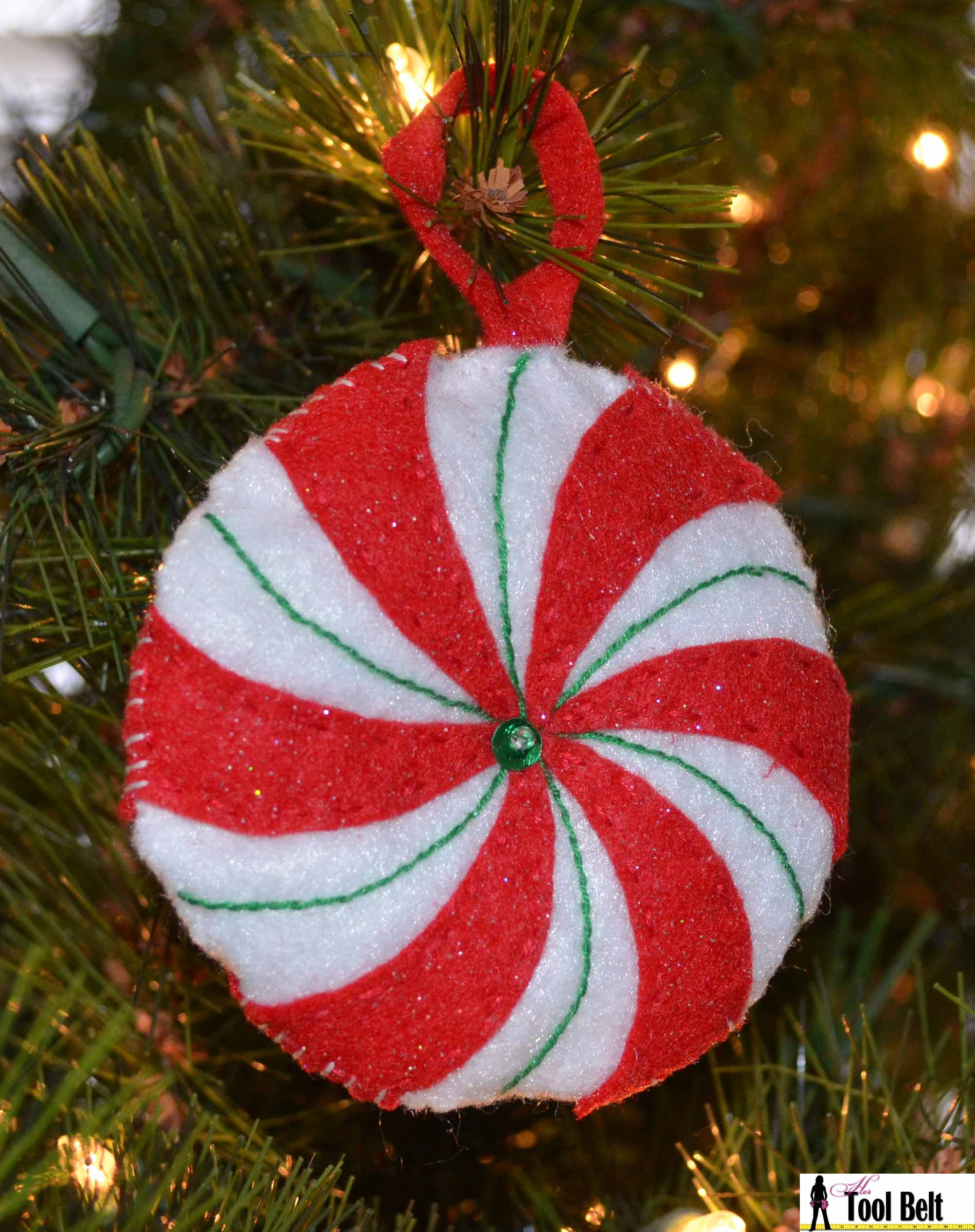 4th Day Of Christmas Peppermint Candy Ornament Her