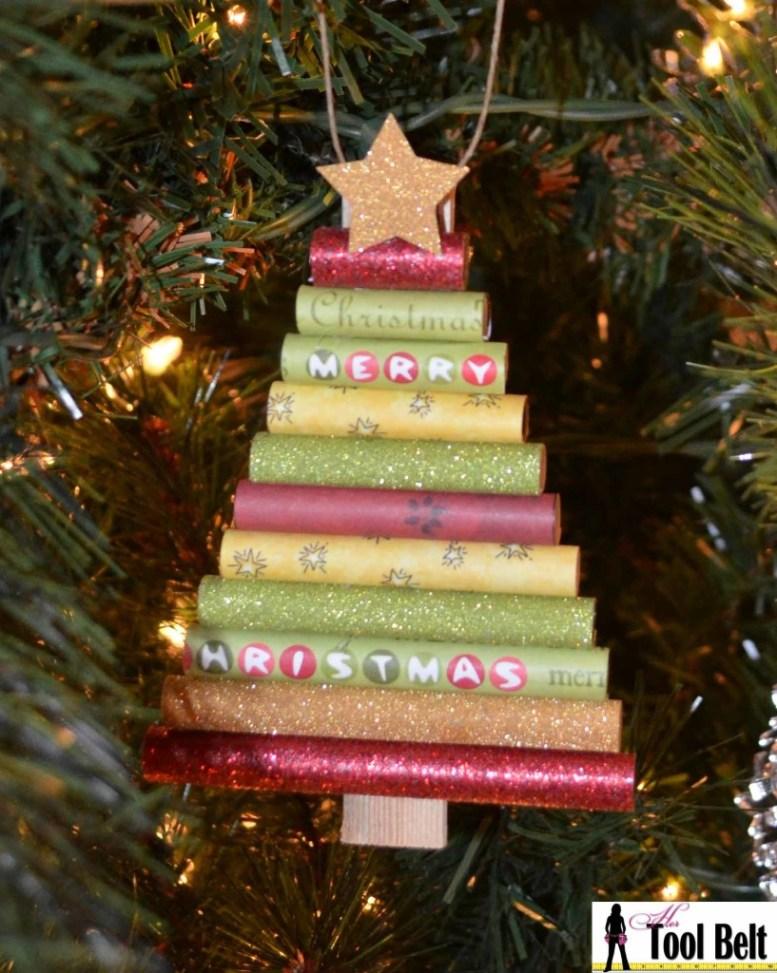 Gerold Document Kerstboom Ornament | Verbluffende zelfgemaakte kerstversieringen die je kunt maken met een beperkt budget | zelfgemaakte christmas decorations