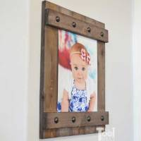 DIY Easy Farmhouse Style Frame
