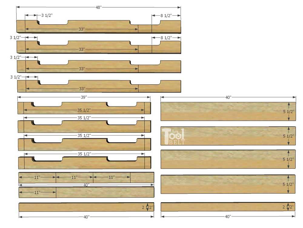 DIY Free Pallet Porch Table Her Tool Belt