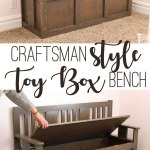 Craftsman Toy Box Bench Her Tool Belt