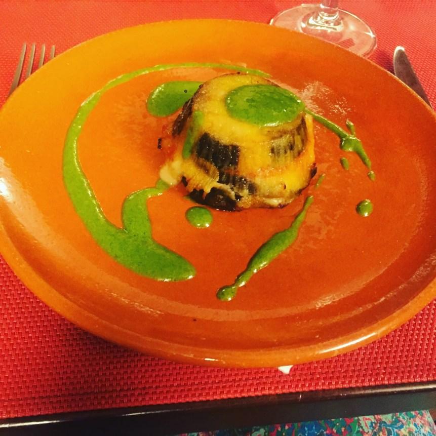Eggplant Pesto deliciousness